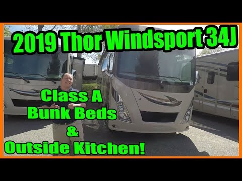 2019-thor-windsport-34j---class-a-bunk-beds-and-outside-kitchen