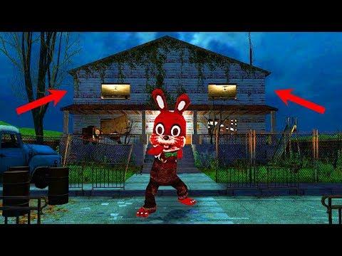 ГДЕ ЖИВЁТ КРОЛИК УБИЙЦА В ХОРРОР ОНЛАЙН МОДЫ! Horror Game Online МАЙНКРАФТ ИГРЫ ВИДЕО ОБЗОР МОДОВ