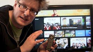 Amazon Fire TV Stick einrichten und erster Eindruck