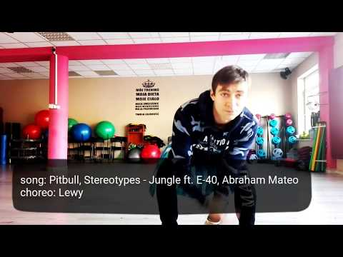 Zumba ® Fitness 2018 Pitbull, Stereotypes - Jungle Ft. E-40, Abraham Mateo | Choreo Lewy |
