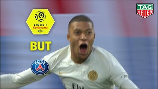 But Kylian MBAPPE (87') / SM Caen - Paris Saint-Germain (1-2)  (SMC-PARIS)/ 2018-19