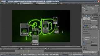 Blender Tutorial: Neon Sign Text Flicker