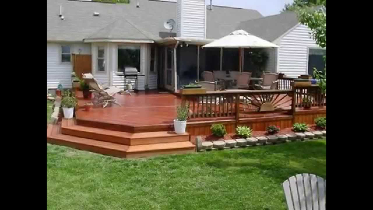 Backyard Deck Images : Backyard Decks You Will Drool Over  YouTube