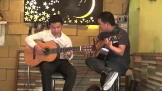 Tình ca du mục - Hòa tấu ngẫu hứng guitar Văn Anh & Hoàng Như Định TPHCM
