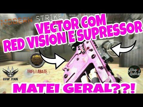 MSO, VECTOR COM RED VISION + SUPRESSOR O DIA DO TRIPLO!!!
