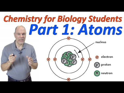 Basic Chemistry for Biology, Part 1: Atoms