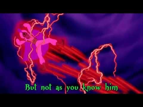 Aladdin - Prince Ali (Dark Reprise Sing-Along Lyrics)
