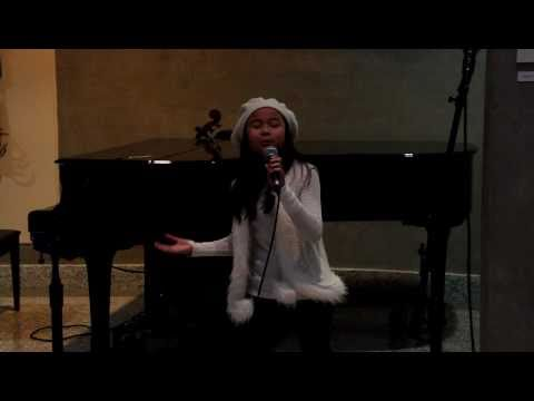 Let It Be (The Beatles cover) - The Wannabeatles audition by 9 yo Dominique Dy at Renaissance Center
