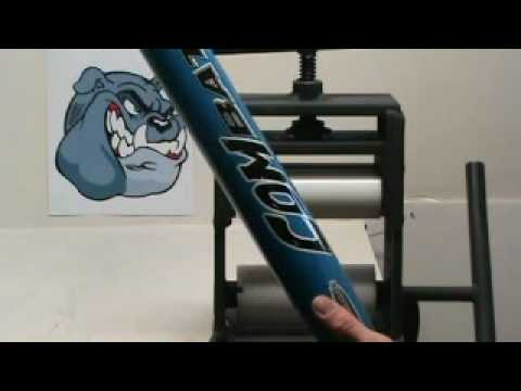 Bat Rolling A Combat B2 Da Bomb Youth Baseball Bat