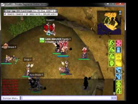 Xilero Ex Forgotten'Aura Guild vs Oys...