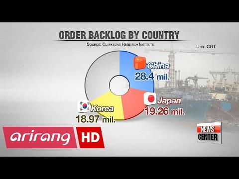 Korean shipbuilders sweep half of global orders in January