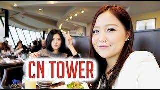 TORONTO VLOG:  CN Tower & 360 Restaurant