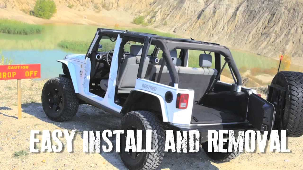 BedRug Jeep Liners Features & Benefits
