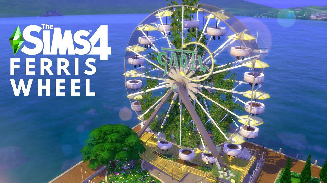 FERRIS WHEEL & PIER BAR   The Sims 4 Speed Build   NOCC