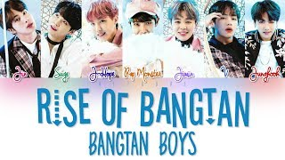 BTS (방탄소년단 ) – RISE OF BANGTAN (진격의 방탄) Color Coded Lyrics HAN/ROM/ENG