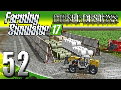Farming Simulator 2017 Gameplay :EP52: New Field & Organizing Cows! (PC HD Goldcrest Valley)