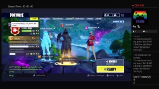 Fortnite solo with scourge skin!