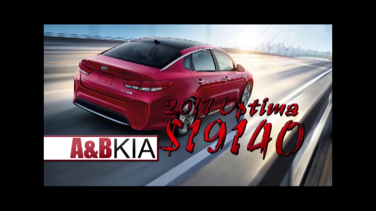 A And B Kia >> Model Year End Clearance At A And B Kia Youtube
