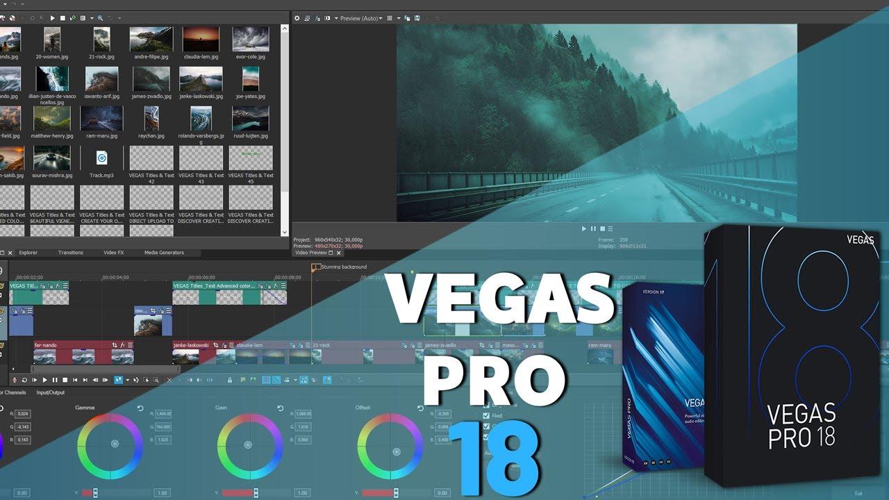 Vegas Pro 18 All New Features | مراجعة الإصدار الجديد لبرنامج المونتاج فيجاس برو 18