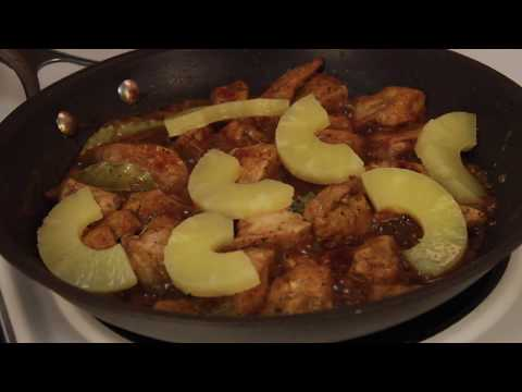 HOW TO MAKE: CHICKEN ADOBO WITH PINEAPPLE