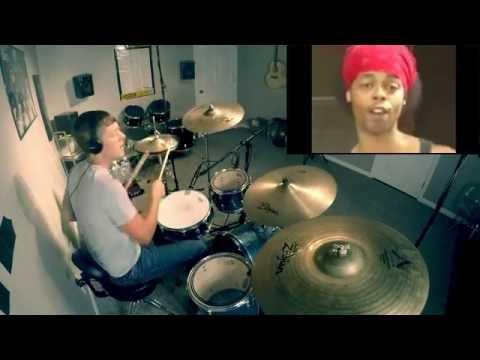 BED INTRUDER SONG - Drum Cover - HIDE YO KIDS!