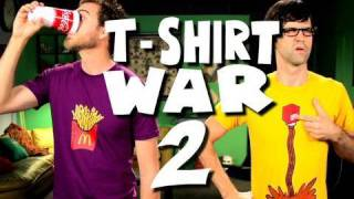 T-SHIRT WAR 2!! (TV Commercial - Stop Motion) thumbnail