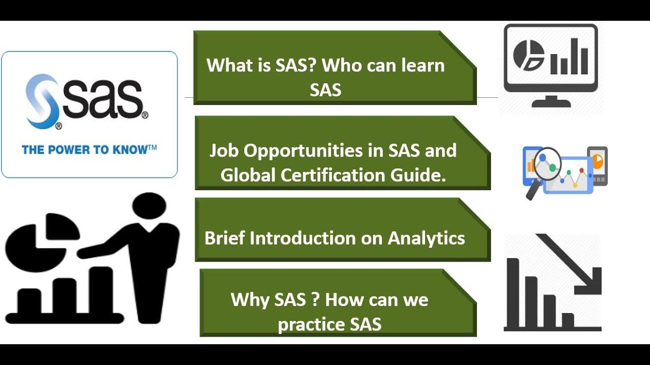 SAS Tutorial for Beginners |Base and Advance SAS Demo