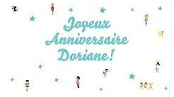 ♫ Joyeux Anniversaire Doriane! ♫