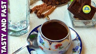TURKISH COFFEE MAKING. How to make TURKISH COFFEE at home. TURKISH COFFEE with Cinnamon recipe