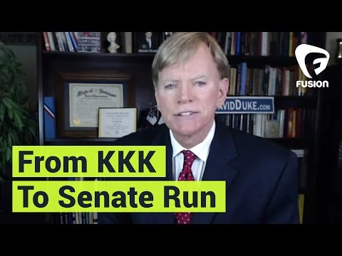 Former KKK Grand Wizard David Duke Is Running For Senate