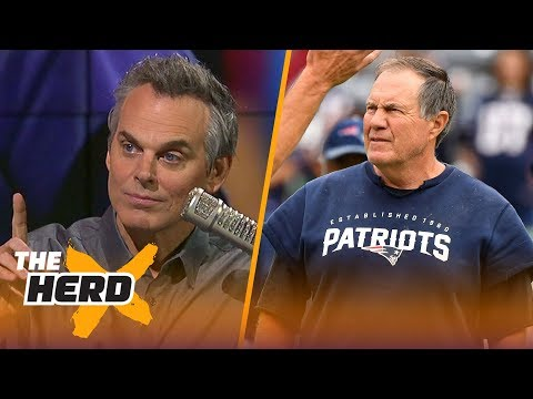 Colin Cowherd weighs in on reported 'tension' between Brady, Belichick and Kraft | THE HERD