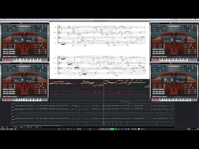 Mario Gagliani - Flowering - performed by Luigi Zaccheo w/ Swam Strings