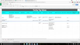 Google Spreadsheets: Tips & Tricks