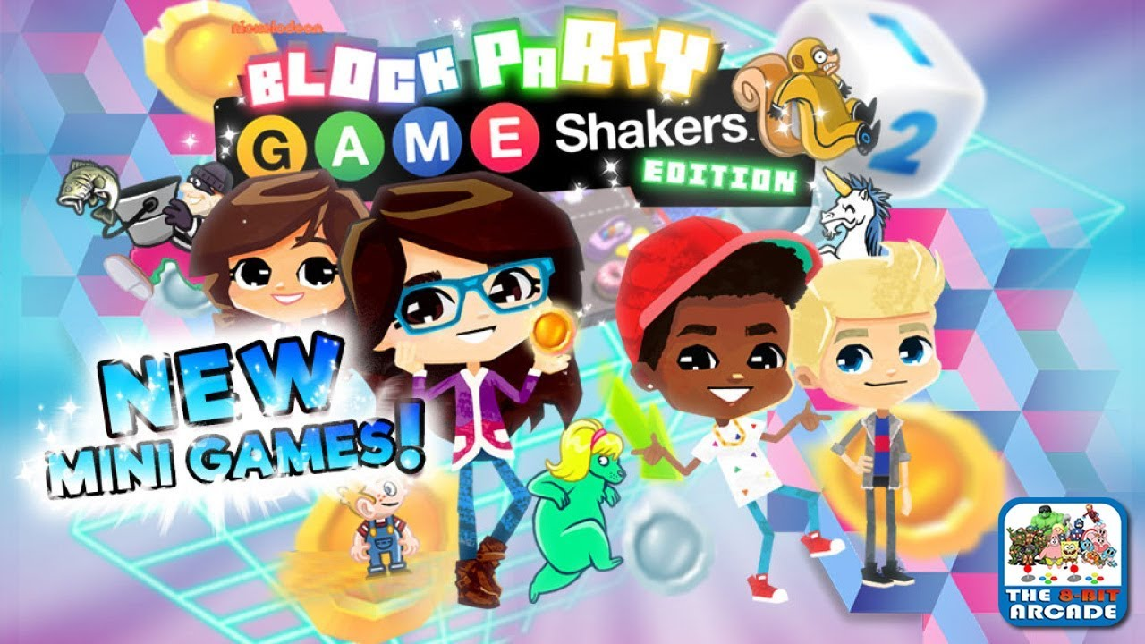 Block Party: Game Shakers Edition – New Mini Games! (Nickelodeon Games)