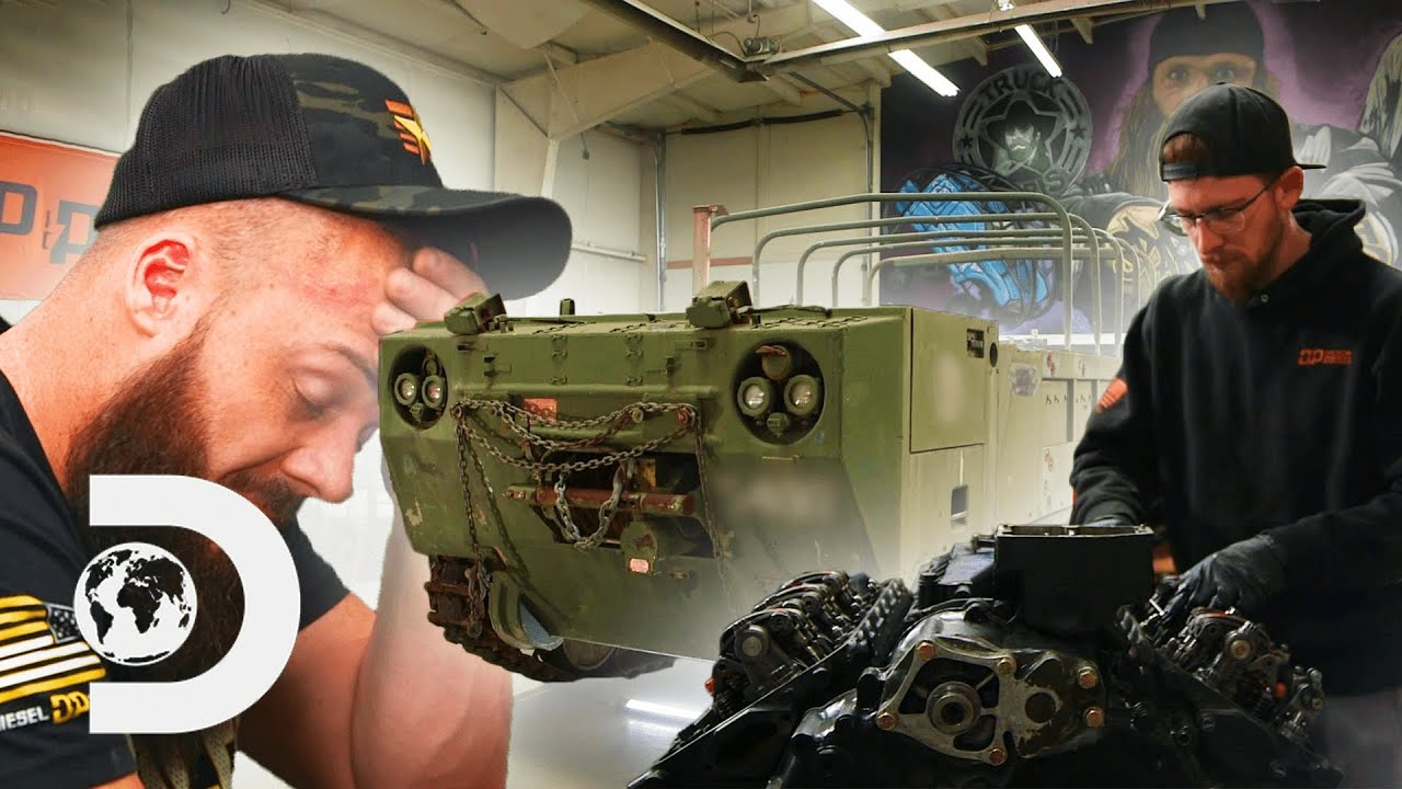 Rebuilding The Engine Of A M548 Cargo Carrier | Diesel Brothers