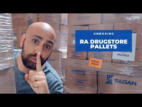 Unboxing: RA Drugstore Manifested Pallets (English)