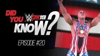 WWE 2K19 Did You Know? Unique Promo Entrance, Hidden Tag Entrance & Trons! (Episode 20)