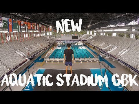 NEW AQUATIC STADIUM GBK | Ready for Asian Games 2018