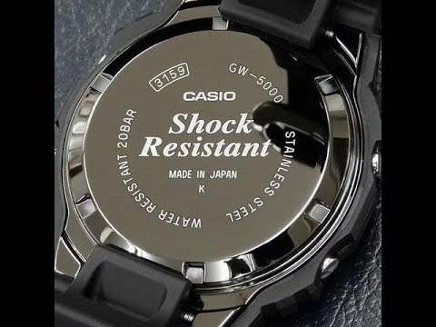 wholesale dealer 23861 baff9 Gshock GW-5000-1jf (gw5000)