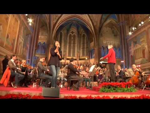 Anggun - Malam Kudus / Silent Night - Rehearsal (Basilica of San Francesco - Assisi 12/12/14)