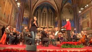 Anggun - Malam Kudus / Silent Night - Rehearsal (Basilica of San Francesco - Assisi 12/12/14)