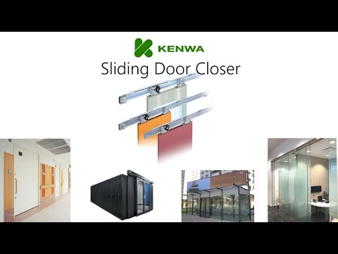 Sliding Door Closer (self Closing Device For Sliding Doors)   YouTube
