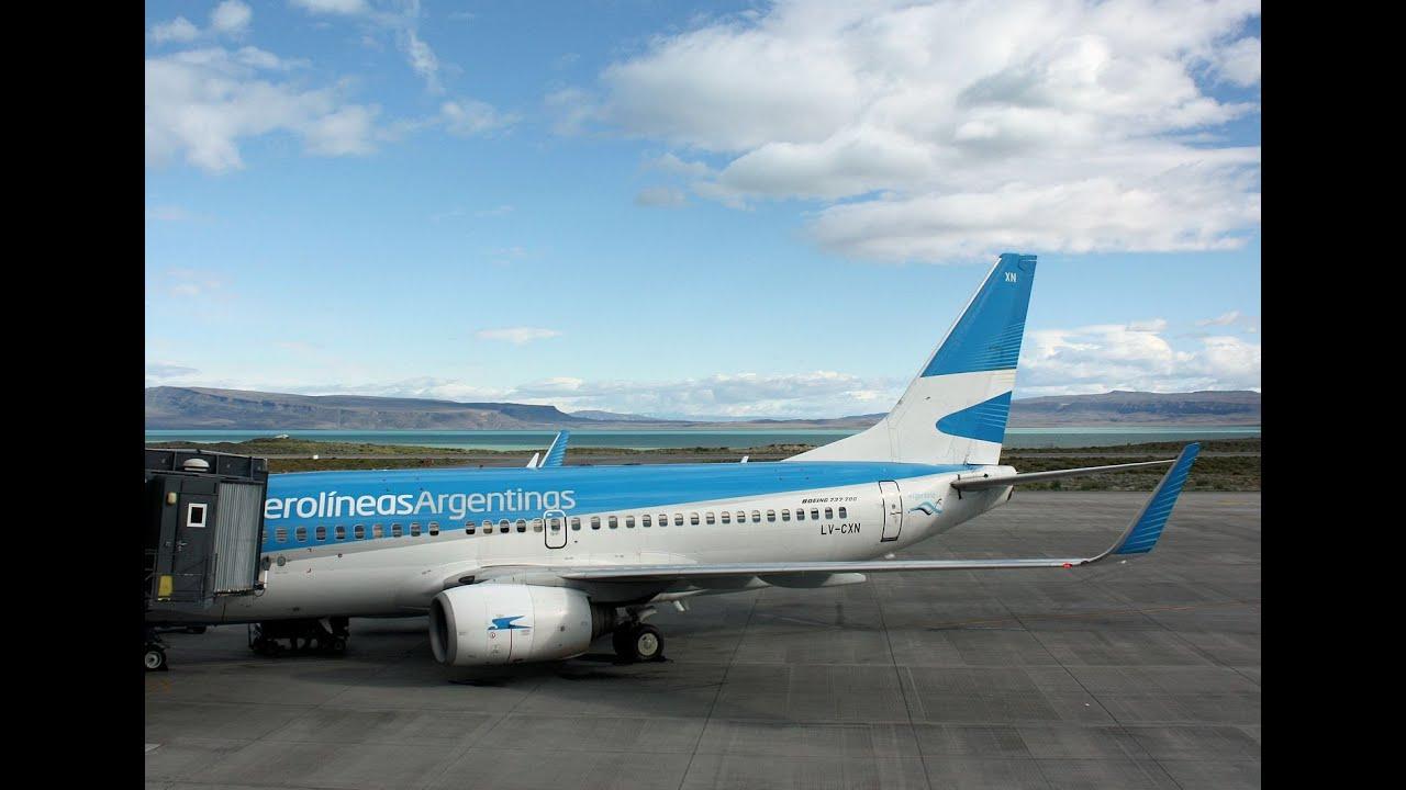 Boeing 737 700 Jet De Aerol U00edneas Argetinas El Calafate