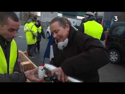 Besançon : la police déloge les gilets jaunes