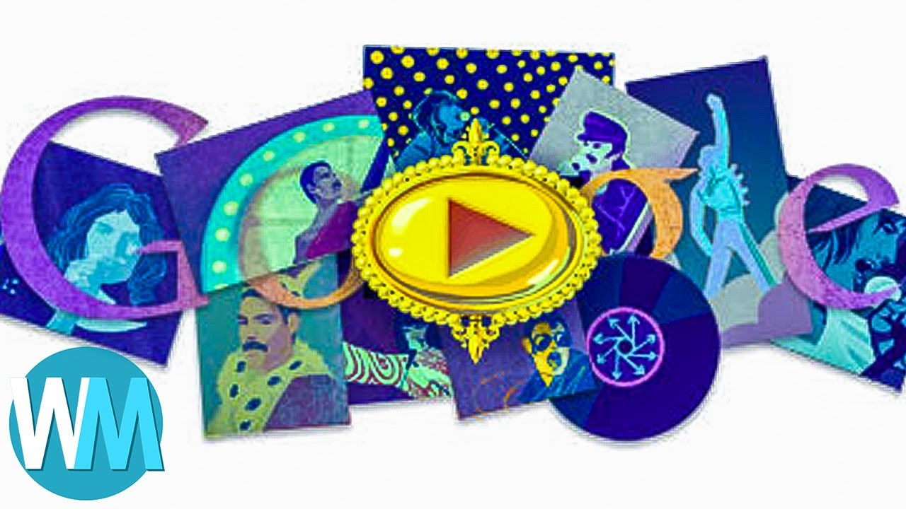 Top 10 Most Creative Google Doodle Designs Youtube