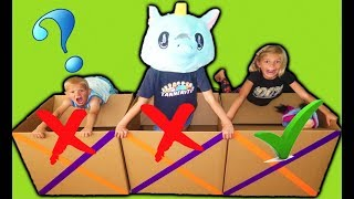 Don't Jump into the WRONG Mystery Box!!