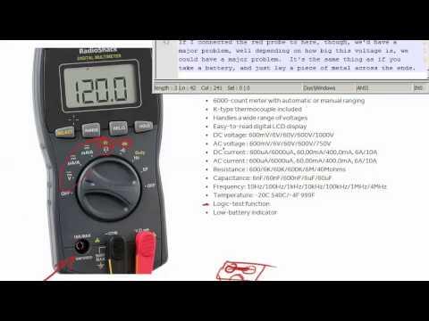 2015 02 03 Radioshack True RMS Digitial Multimeter