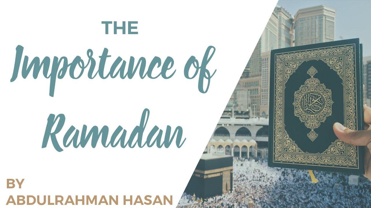 Download Importance of Ramadan   Khutbah   Ustadh AbdulRahman Hassan