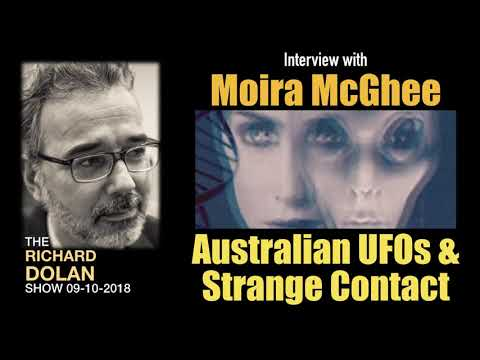 Richard Dolan Interviews Moira McGhee