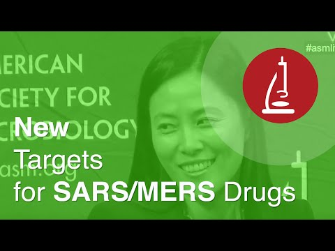 New Targets for SARS/MERS Drugs - ICAAC 2014